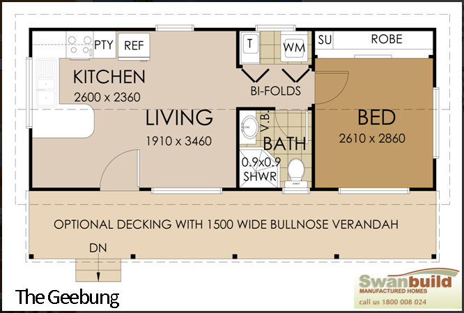 Garage apartment plans 3 bedroom - Granny Flats By Swanbuild Manufactured Homes Real Estate Property For