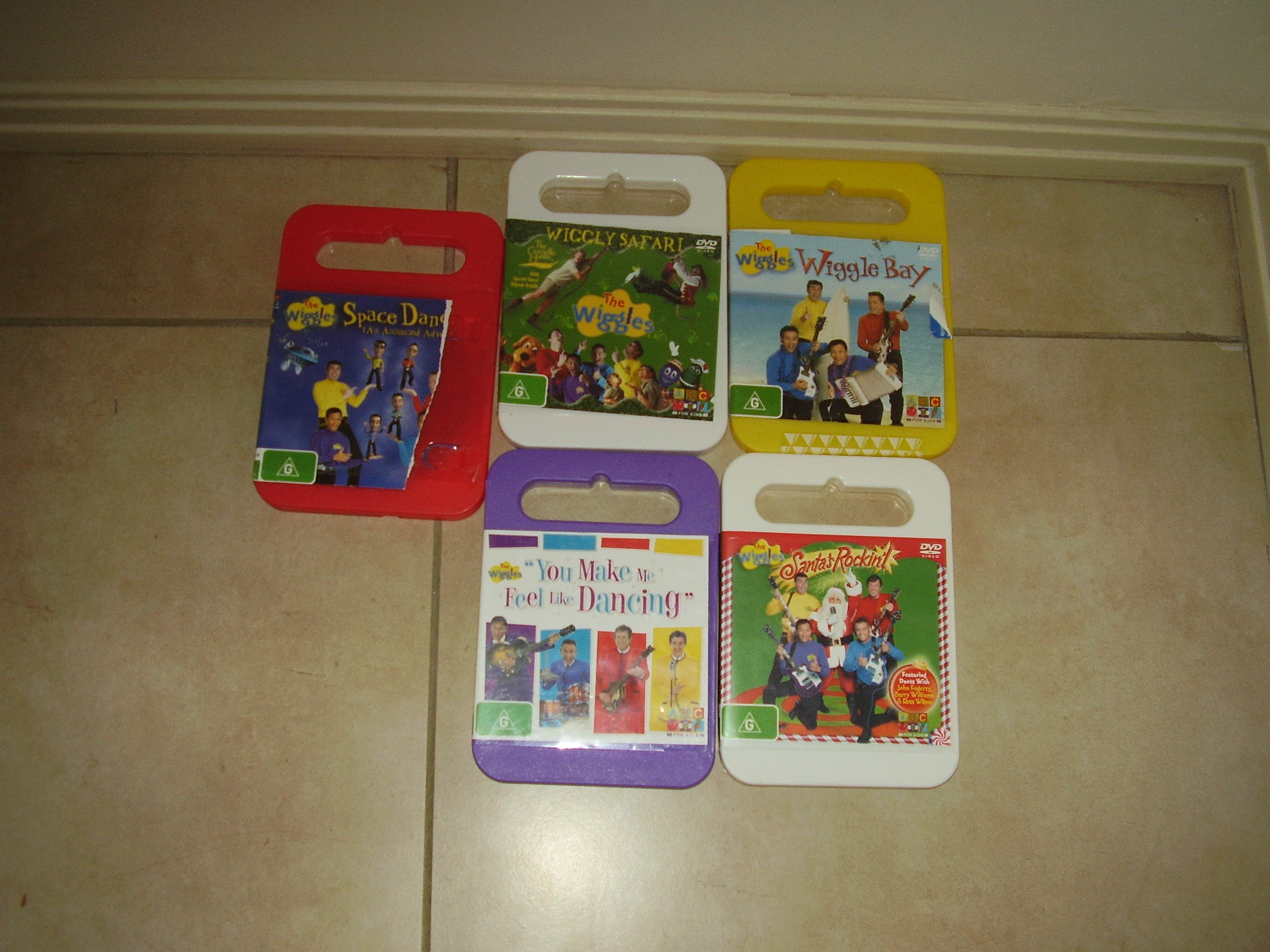 The Wiggles Dvds -BUY AND SELL-TV/DVD's